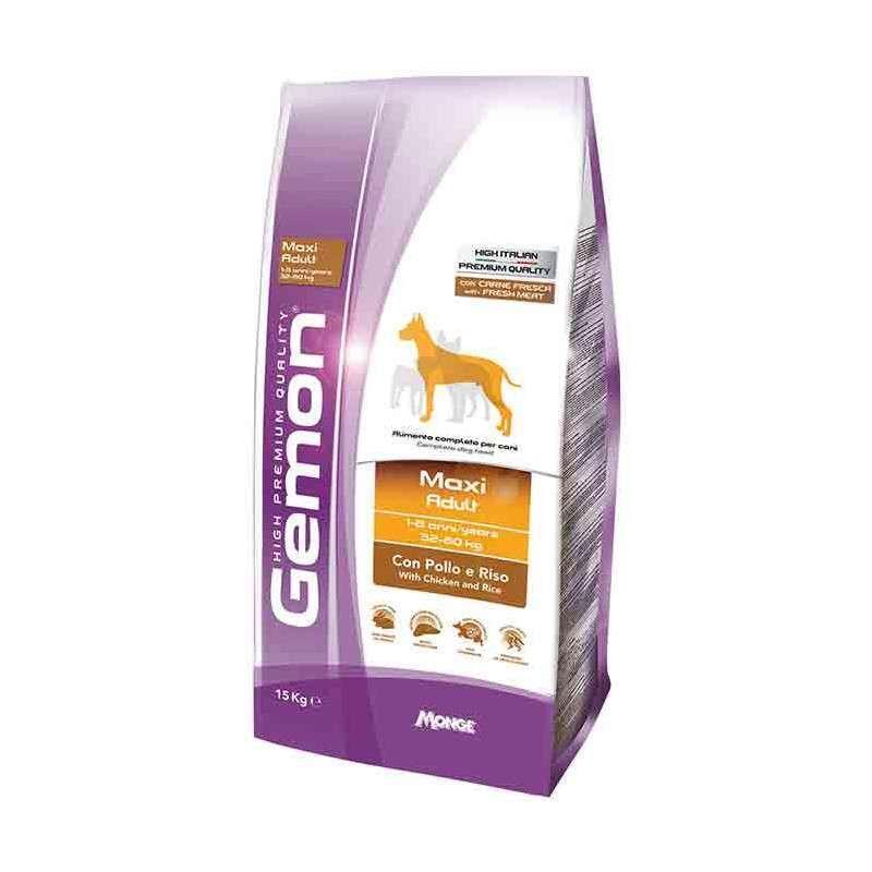 Gemon (Джемон) Maxi Adult - Сухой корм для взрослых собак больших пород с курицей и рисом