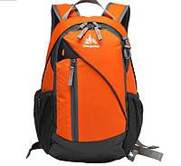 Модный городской рюкзак Onepolar 1391 оранжевый