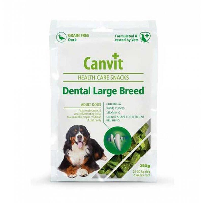 Canvit (Канвит) Dental Large Breed - Полувлажные лакомства для ухода за зубами больших пород взрослых и стареющих собак