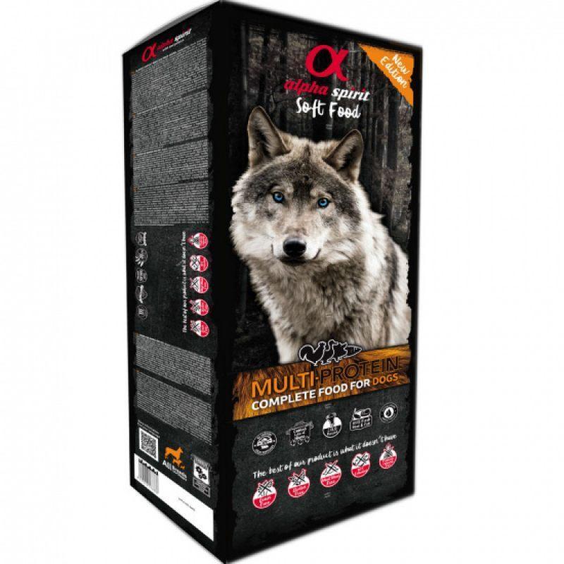 Alpha Spirit (Альфа Спирит) MultiProtein - Полувлажный корм для собак (мультипротеин)