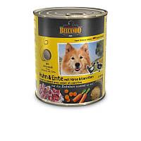 Belcando (Белькандо) Консервированный корм с курицей, уткой, пшеном и морковью для взрослых собак