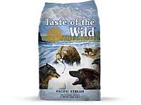 Taste of the wild (Тейст оф зе вилд) Pacific stream canine formula - Сухой корм с копченым лососем для собак