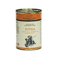 """Hubertus Gold (Хубертус Голд) Консервированный корм """"Курица с Картошкой и Морковкой"""" для щенков и молодых собак"""