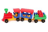 Детский конструктор ТЕХНОК Волшебный поезд 1 0274 31 деталей Разноцветный 2-0274-00868, КОД: 1070478