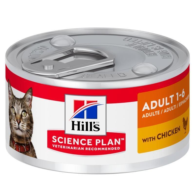 Hill's (Хиллс) Wet SP Feline Adult Chicken – Консервированный корм с курицей для взрослых кошек