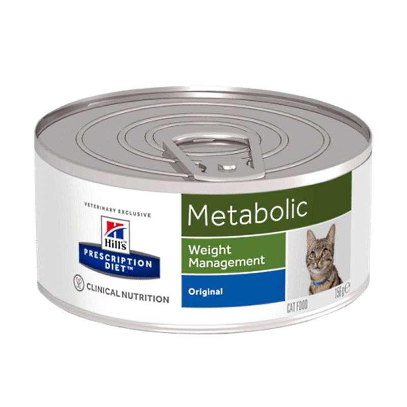 Hill's (Хиллс) Wet PD Feline Metabolic Weight Management - Консервированный корм-диета со свининой для кошек при ожирении и избыточном весе