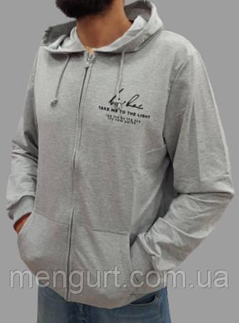 """Спортивная кофта мужская на молнии с капюшоном и карманами  в интернет-магазине """"МенГурт"""", фото 2"""