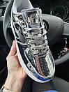 Кроссовки женские Nike Air Force 1 Metallic Silver, фото 3