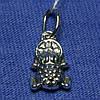 Серебряная подвеска Лягушка 4004