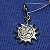 Серебряный кулон Солнце 4006