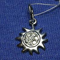Серебряный кулон Солнце 4006, фото 1