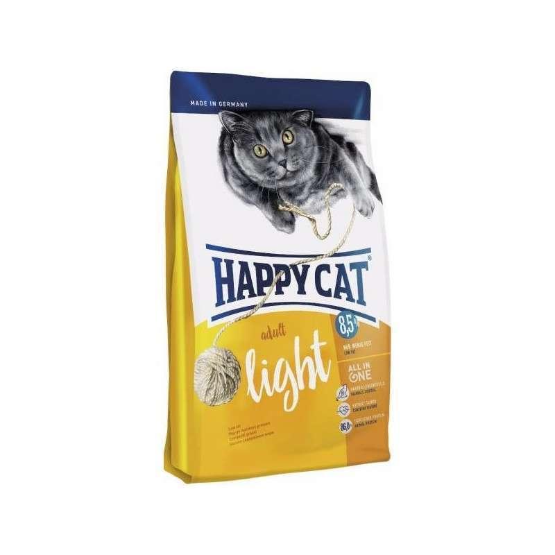 Happy Cat (Хеппи Кэт) Adult Light - Сухой корм с птицей для взрослых котов с избыточным весом