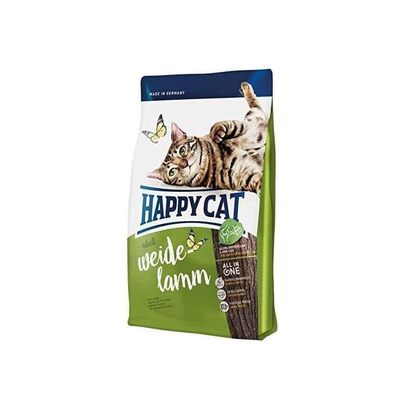 Happy Cat (Хеппи Кэт) Adult Weide-Lamm - Сухой корм с ягненком для взрослых котов