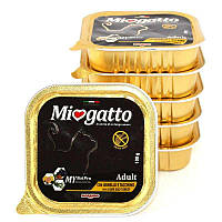 Morando (Морандо) Miogatto Adult Lamb and Turkey - Влажный корм с ягненком и индейкой для взрослых котов