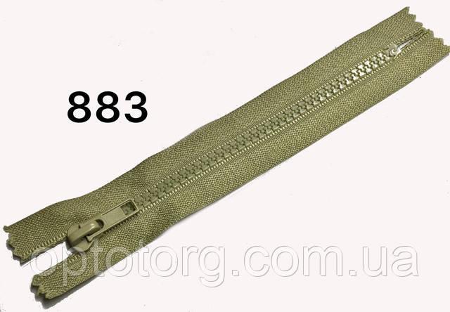 Молния тракторная центральная карманка пластиковая змейка №5