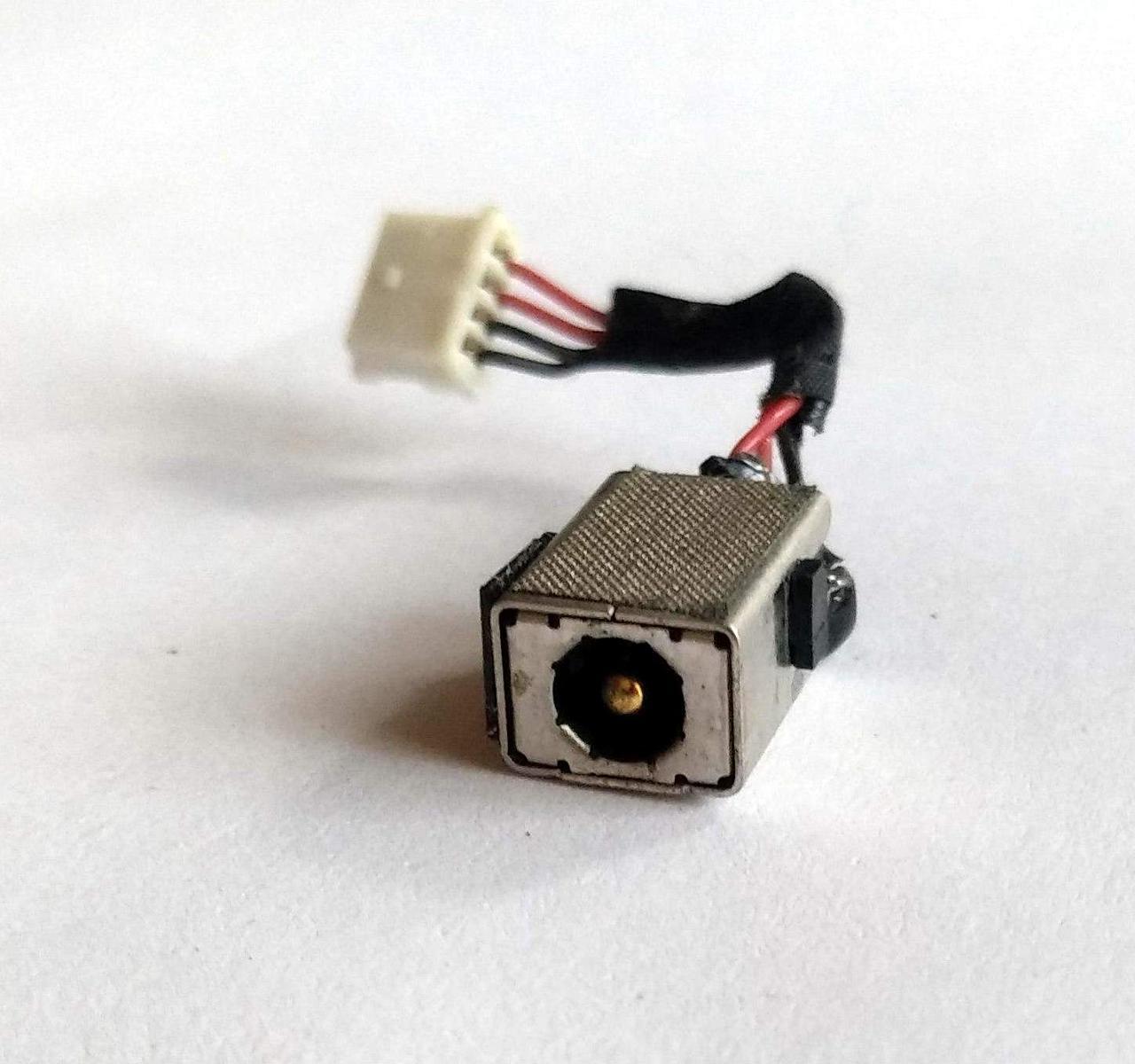 460 Разъем питания HP Mini 110-3000, CQ10 + шлейфик