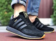 Мужские зимние  кроссовки  Adidas  Iniki  Замша