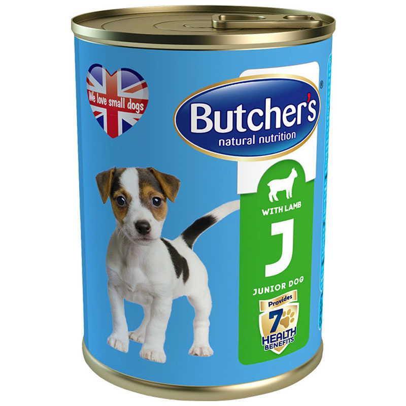 Butcher`s (Бутчерс) Life Junior with Lamb - Консервы с ягненком для щенков и молодых собак