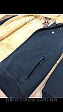 Тёплые мужские качественные толстовки - кофты на меху. Производство - Турция., фото 9