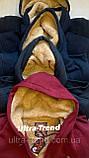 Тёплые мужские качественные толстовки - кофты на меху. Производство - Турция., фото 7