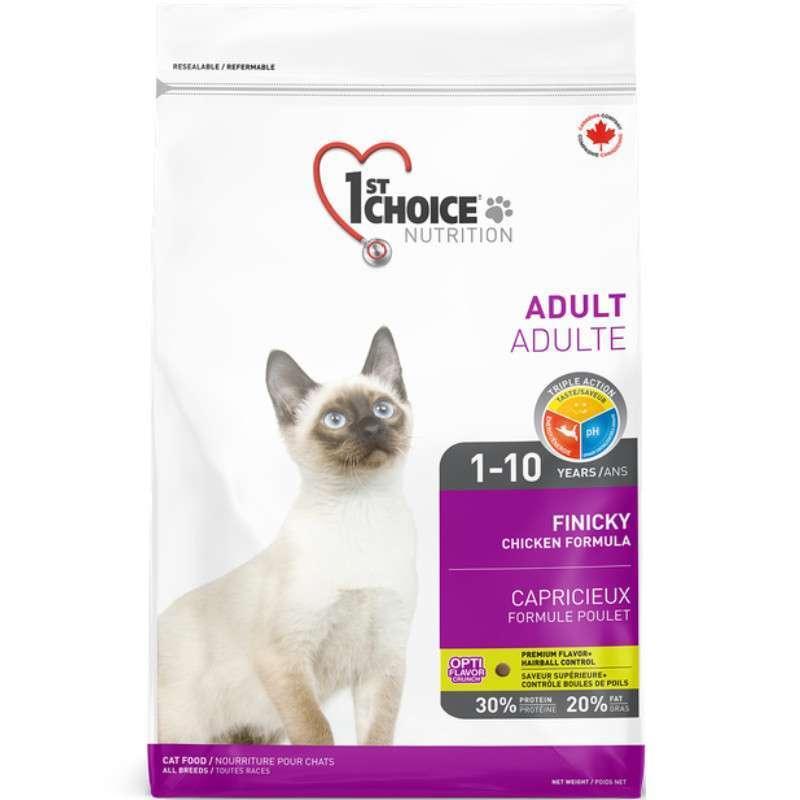 1st Choice (Фест Чойс) Active - Сухой корм с курицей для активных или переборчивых котов