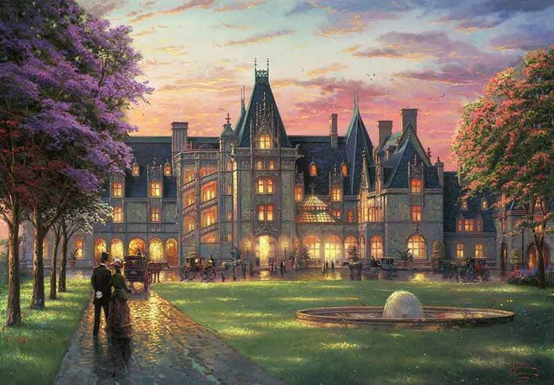 """Картина по номерам """"Дворец"""" тм Лавка Чудес 40 x 50 см (в коробке) (LC30091)"""