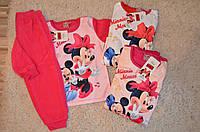 Теплая пижама Дисней Минни для девочек Дисней  98/104-134 см