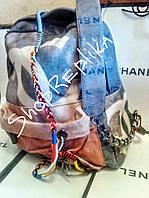 Рюкзак Шанель Chanel  Сер . Лучшие цены
