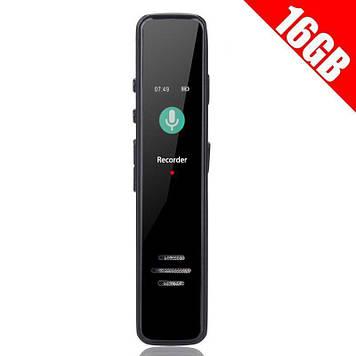 Диктофон цифровий з активацією голосом Savetek GS-R63 16 Гб (100566)
