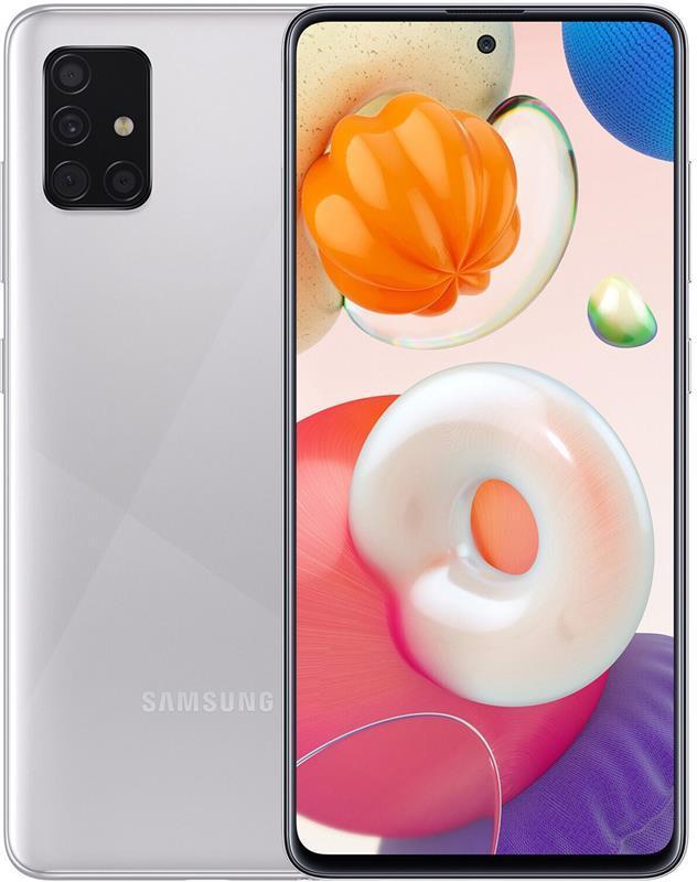 Samsung Galaxy A51 SM-A515 64GB Dual Sim Metallic Silver UA