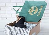 Мужские ботинки Timberland в стиле Тимберленд Черные НАТУРАЛЬНЫЙ МЕХ (Реплика ААА+), фото 4