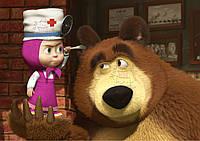 Вафельная картинка Маша и Медведь 47, фото 1