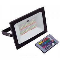 Копия Прожектор LED 50w RGB+пульт IP65