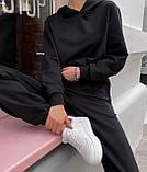 Женский костюм спортивный демисезонный. Размеры: S-М и M-L. Цвета: беж, шоколад, чёрный., фото 7