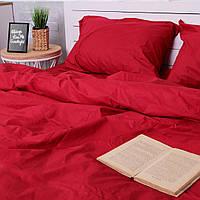 Комплект постельного белья Хлопковые Традиции Двухспальный 175x215 Красный PF029двуспальный, КОД: 353855
