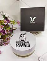 Elizavecca Donkey Piggy Патчи из биоцеллюлозы с молоком ослиц / Milky EGF cling Eye Patch