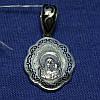 Серебряная ладанка с эмалью Богородица 331059