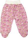 Дитячий костюм зростання 62 2-3 міс трикотажний інтерлок рожевий костюмчик на дівчинку комплект для новонароджених малюків Р255, фото 3