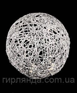 Куля діаметр 20см, біла 19-101-20-W