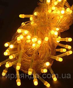 100 LED ОДНОТОН  ,жовтий