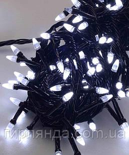 КОНУС 300 LED,  білий         (чорний провід)