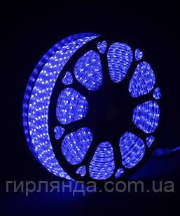 БУХТА 3-жильн. круглий LED 80 м, синій, шт