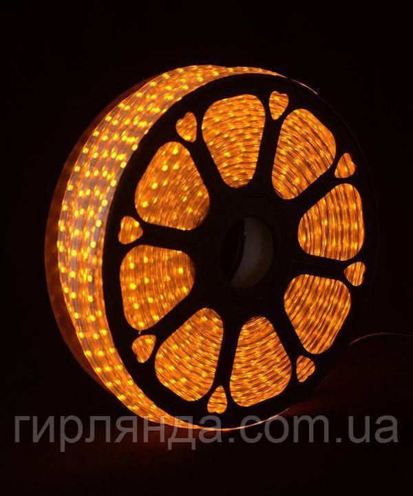 LED стрічка 5050, 80м, жовтий