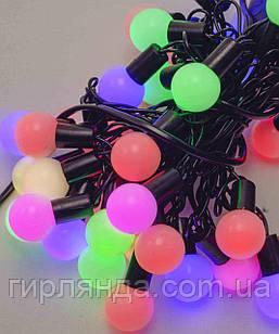Кульки  18мм 20 LED, 5м+ перехідник,  мульті
