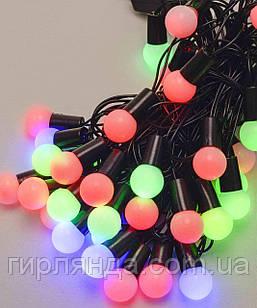 Кульки  18мм 40 LED, 7м+ перехідник,  мульті