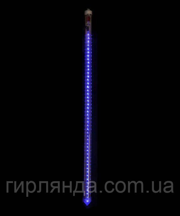 """ПАЛОЧКИ """"1"""" LED  80см , синій"""