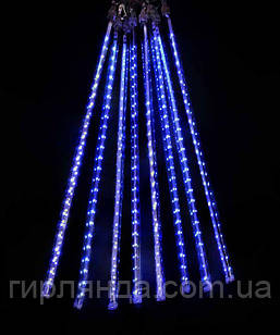 ПАЛОЧКИ з LED стрічкою! 8шт. 3м*0,5м,  синій
