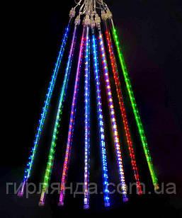 ПАЛОЧКИ з LED стрічкою! 8шт. 3м*0,5м,  мульті