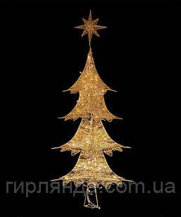 Ялинка-1  золота  130см