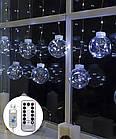Штора-кульки  РОСА 10шт,  3м*0,8м+ з'єднювач,  білий, фото 3
